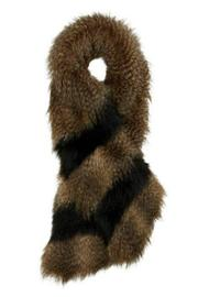 Alice Hannah London Animal Faux Fur Stole - Product Mini Image
