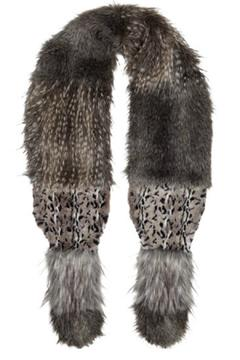 Alice Hannah London Animal Fur Stole - Alternate List Image