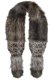 Alice Hannah London Animal Fur Stole - Product Mini Image
