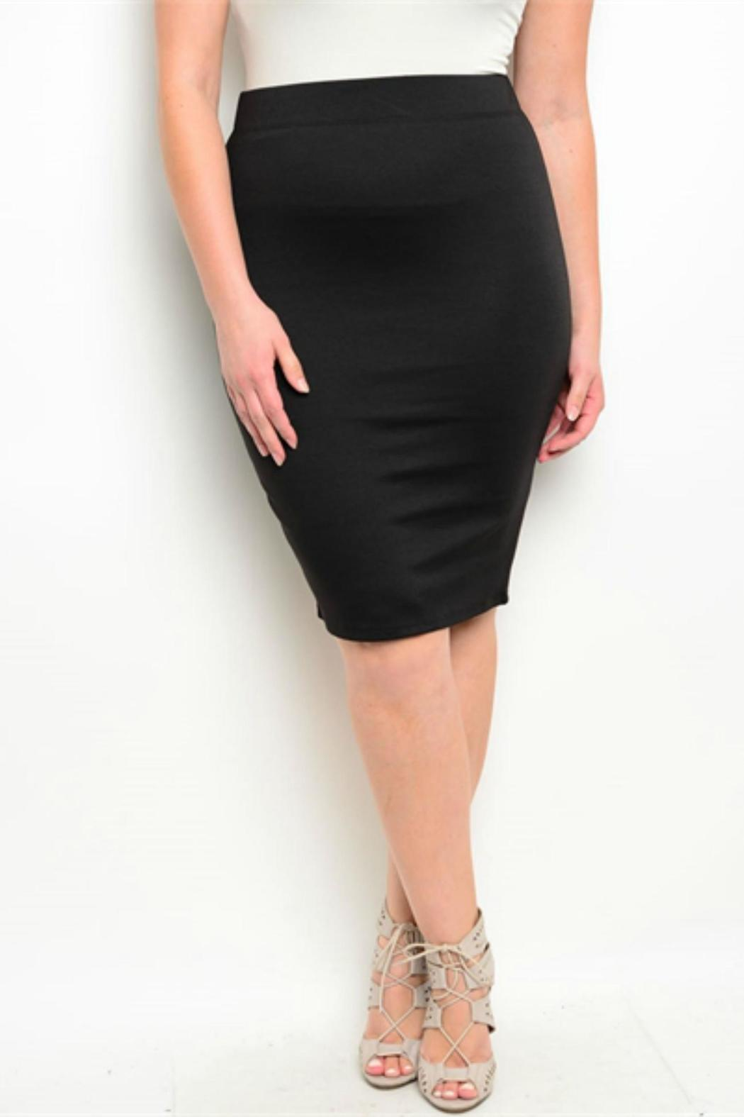 cb75999b7a ALICE LA Plus-Size Pencil Skirt from Idaho by HiPs — Shoptiques