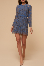 Adelyn Rae Alicia Long Sleeve Dress - Front cropped