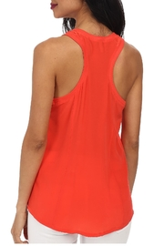 Joie Alicia Mayan-Red Top - Front full body