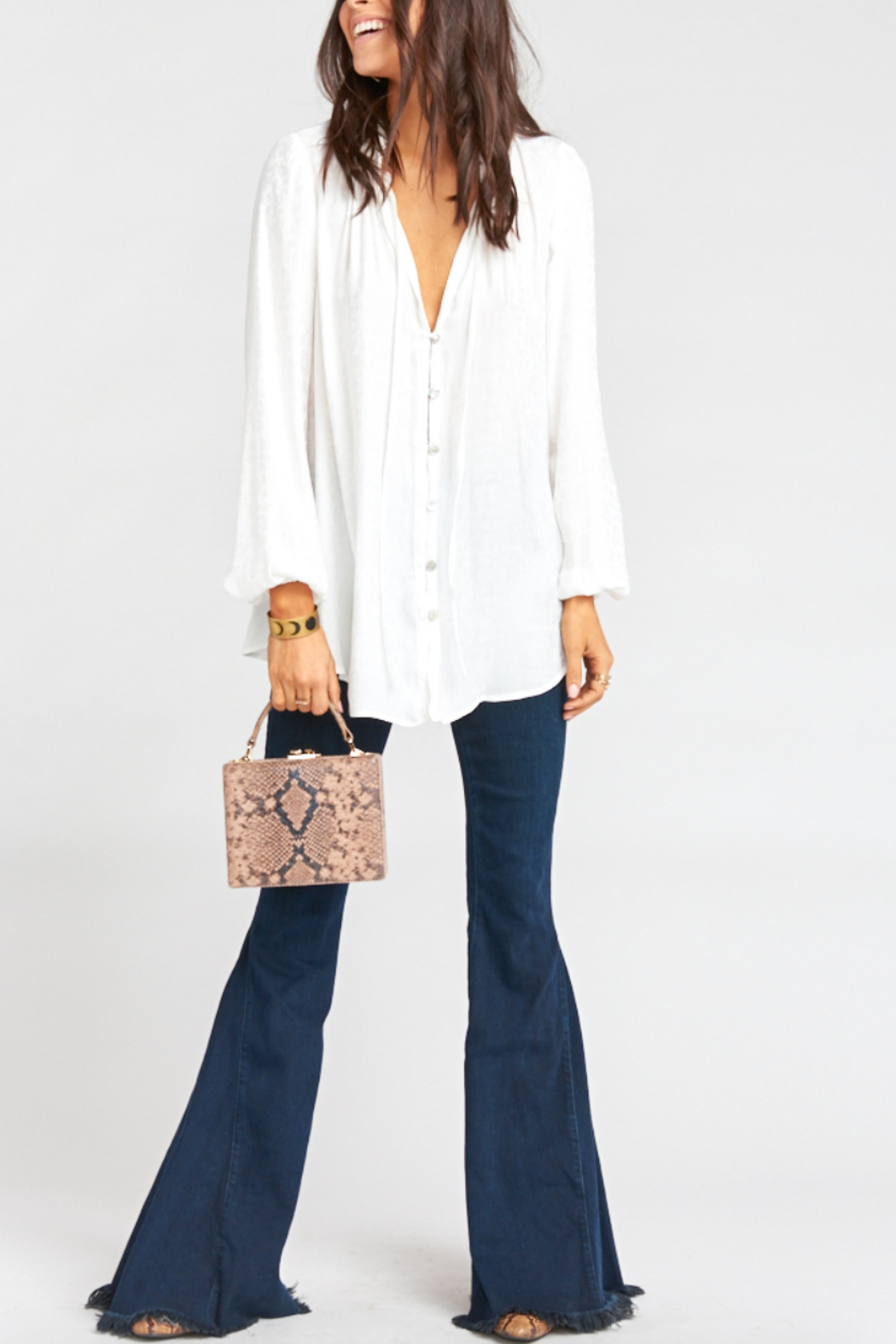 Show Me Your Mumu Alicia Tunic Top - Front Cropped Image