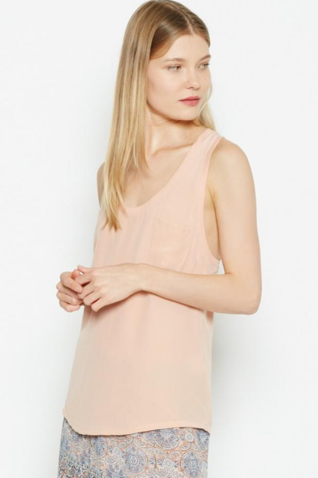 Joie Alicia Vintage-Petal Top - Front Full Image