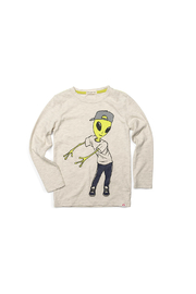 Appaman Alien Floss Graphic Tee - Front cropped