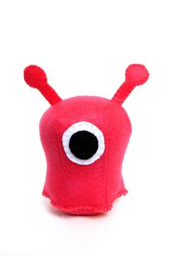 Shoptiques Product: Alien Handsewn Plush
