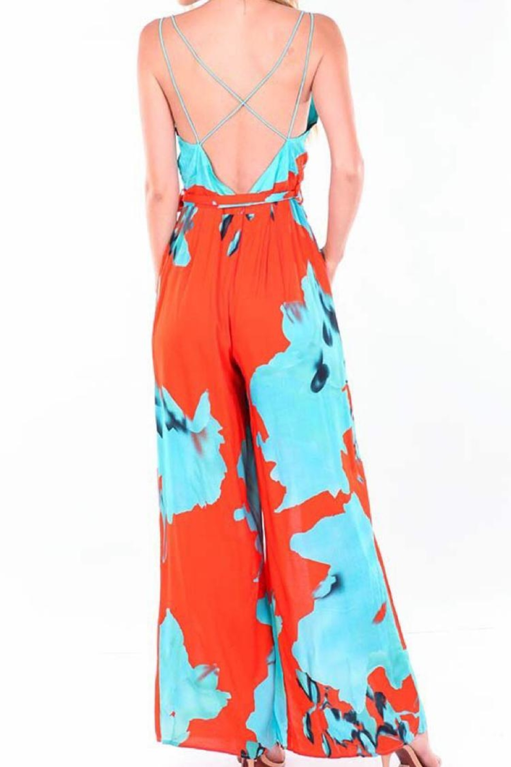 On The Road Alina Jumpsuit - Front Full Image
