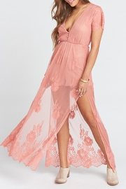 Show Me Your Mumu Alina Maxi Romper - Product Mini Image