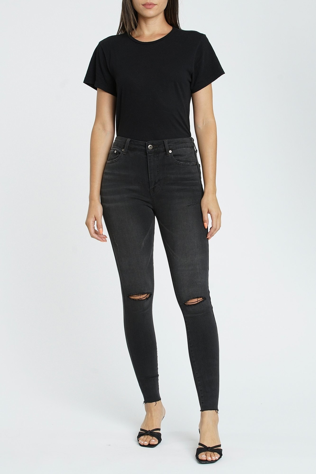 Pistola Aline Skinny Jean in Mustang - Front Cropped Image
