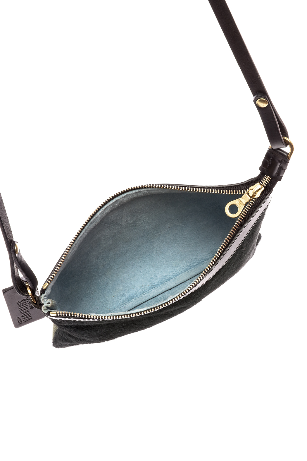 Alisa Smirnova Cowhide Leather Sling Bag - Front Full Image
