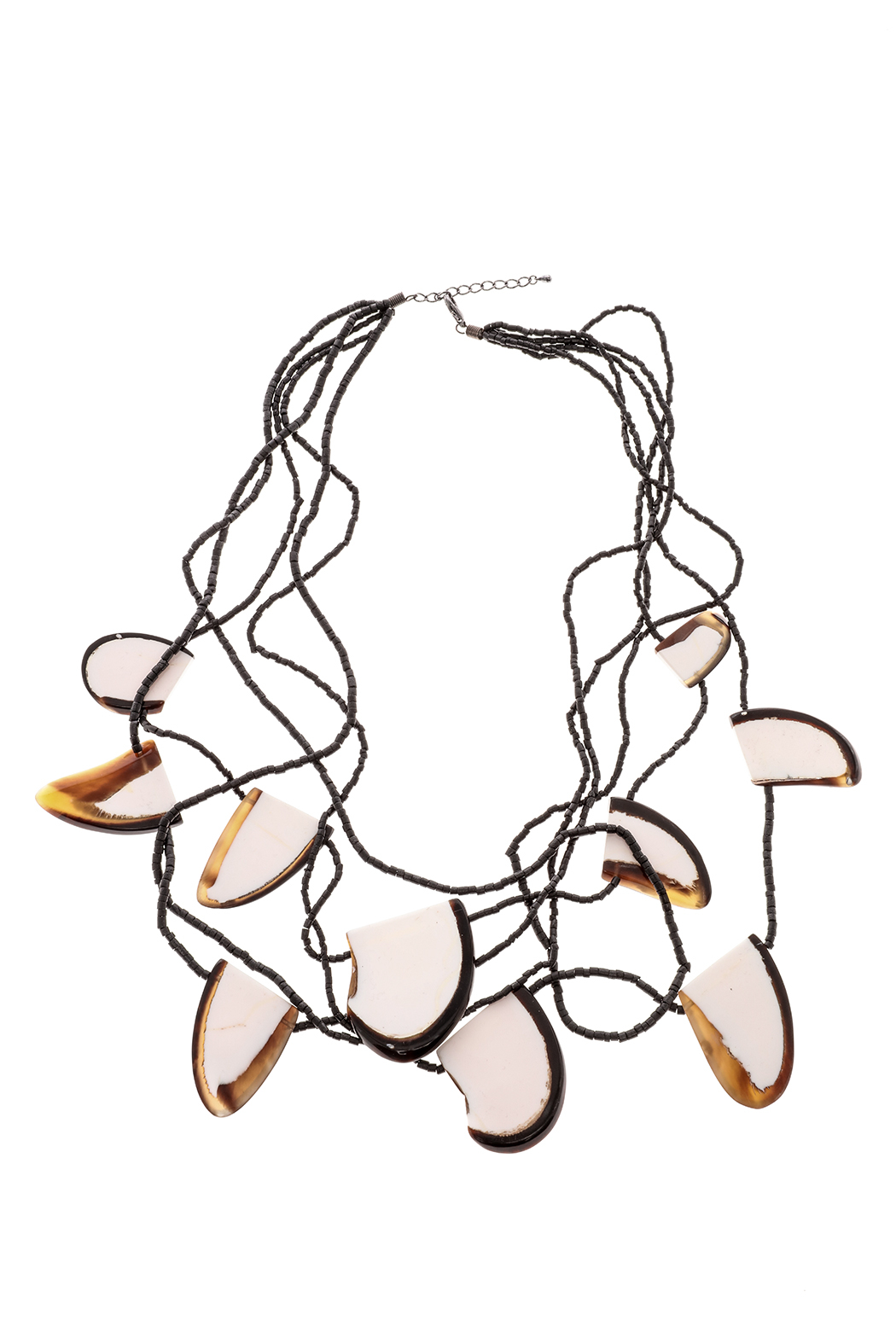 Alisha D Long Funky Necklace - Front Cropped Image