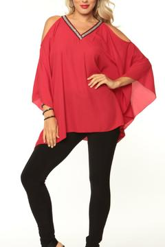 Shoptiques Product: Red Blouse