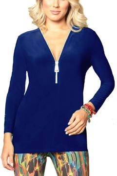 Shoptiques Product: Royal Blue Tunic