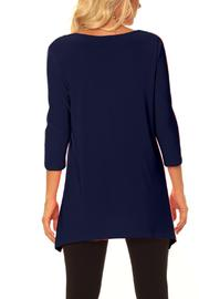 Alisha D V-Neck Tunic - Front full body