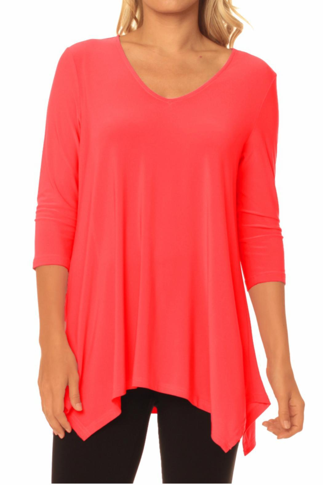 Alisha D V-Neck Tunic - Main Image