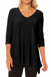 Alisha D V-Neck Tunic - Product Mini Image
