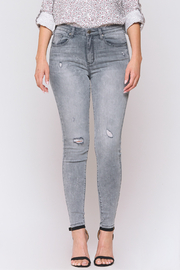 Velvet Heart Alisia Distressed Skinny Jean - Product Mini Image