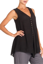 Alison Sheri Black A-Line Tunic - Product Mini Image