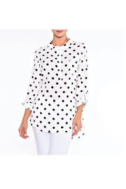 Alison Sheri Black Dot Blouse - Product Mini Image