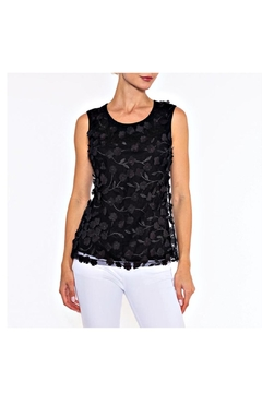 Alison Sheri Black Petal Top - Alternate List Image