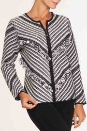 Alison Sheri Black/white Cardigan - Product Mini Image