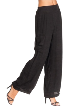 Alison Sheri Black Wide Leg Pant - Alternate List Image