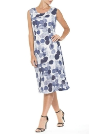 Alison Sheri Blue Spheres Dress - Product Mini Image