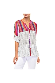 Alison Sheri Bright Blouse - Front cropped