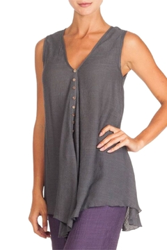 Alison Sheri Charcoal A-Line Tunic - Alternate List Image