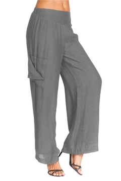 Alison Sheri Charcoal Wide Leg Pant - Alternate List Image