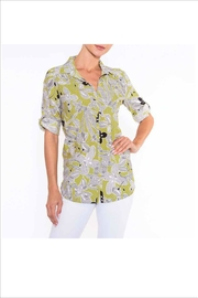 Alison Sheri Citrine /Black Blouse - Product Mini Image