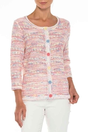 Alison Sheri Multi-Colored Cardigan - Front cropped
