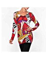 Alison Sheri Picasso Sweater - Product Mini Image