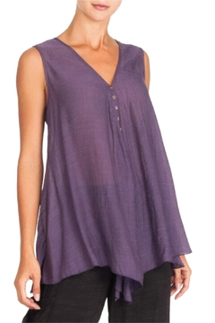 Alison Sheri Purple A-Line Tunic - Product List Image