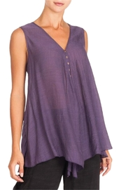 Alison Sheri Purple A-Line Tunic - Product Mini Image