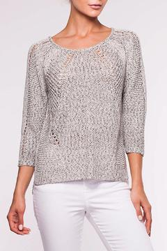 Shoptiques Product: Silver Tweed Sweater