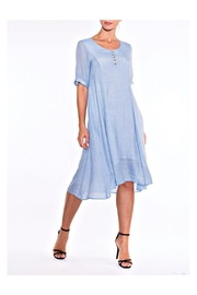 Alison Sheri Sky Blue Dress - Front cropped
