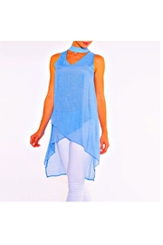 Alison Sheri Sky Blue Tunic - Product Mini Image