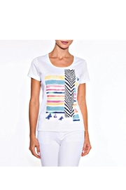 Alison Sheri Summer Tee Top - Front cropped