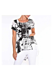 Alison Sheri White/black Tunic - Product Mini Image