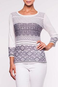 Shoptiques Product: White Navy Sweater