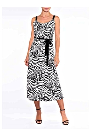 Alison Sheri Zebra Midi Dress - Product Mini Image