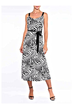 Alison Sheri Zebra Midi Dress - Alternate List Image