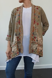 Johnny Was Aliya Draped Cardigan - Product Mini Image