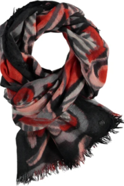 V Fraas ALL ABOUT HEARTS scarf - Back cropped