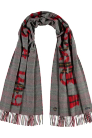 V Fraas ALL ABOUT HEARTS scarf - Front full body