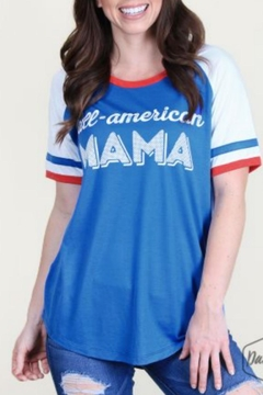 Southern Grace All-American Mama Tee - Product List Image