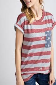 12pm by Mon Ami All American Tshirt - Back cropped