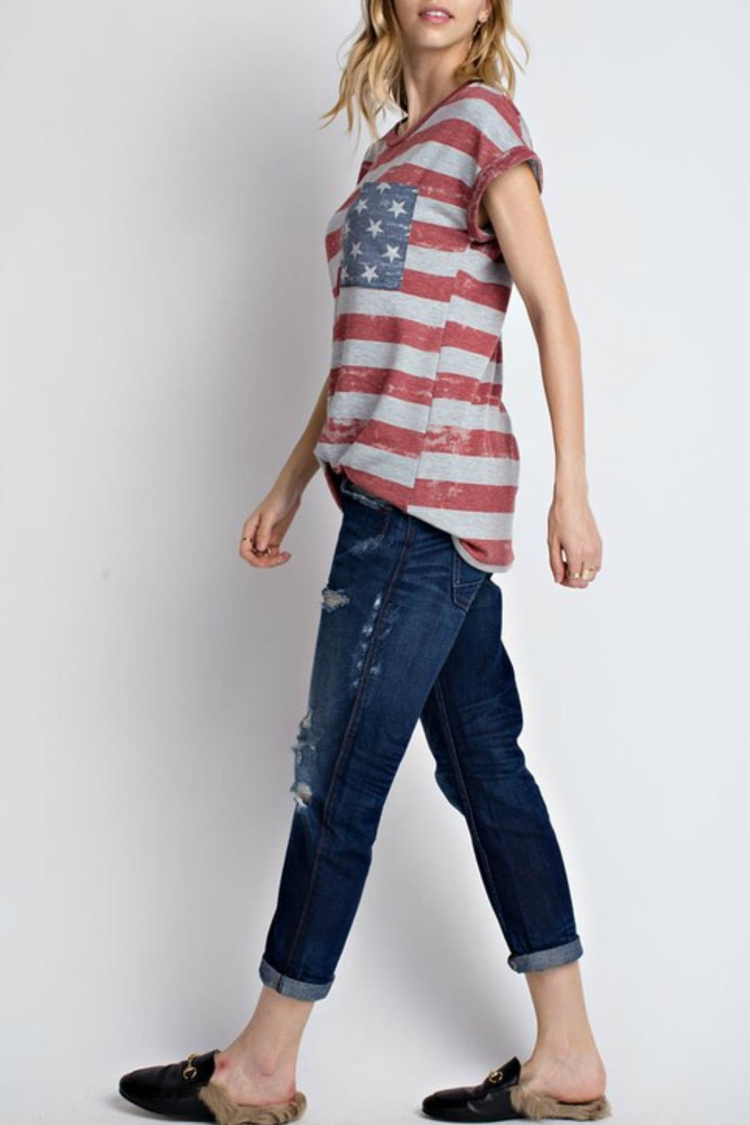 12pm by Mon Ami All American Tshirt - Front Full Image