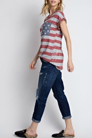 12pm by Mon Ami All American Tshirt - Front full body